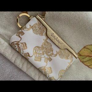 Lilly Pulitzer small zipper key ring elephant